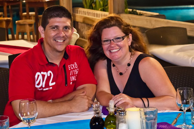 Dorian Nunez with Kristin Simmons
