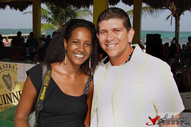 Belize Road Warrior Lily Lebawit Girma with Ambergris Today Editor Dorian N