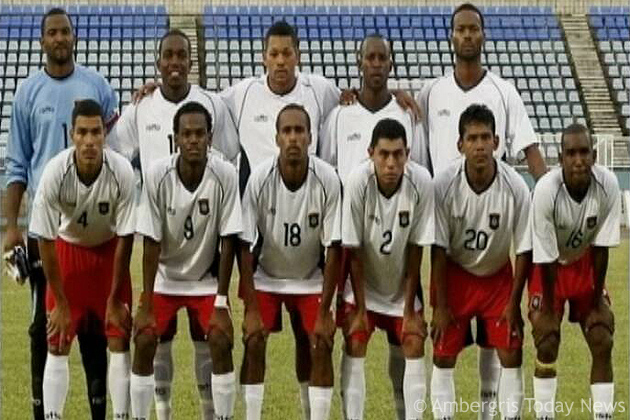 Belize Team rising to FIFA