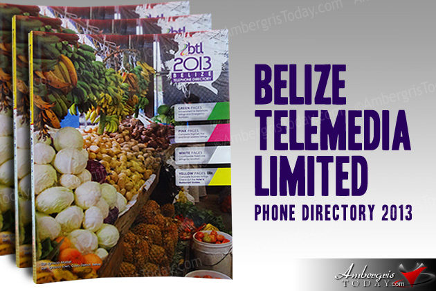 Belize Telemedia Ltd Launches New Telephone Directory