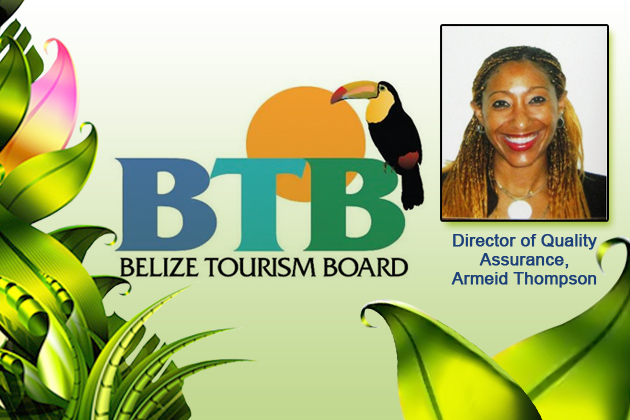 Armeid Thompson is new Director of Quality Assurance for Belize Tourism Board