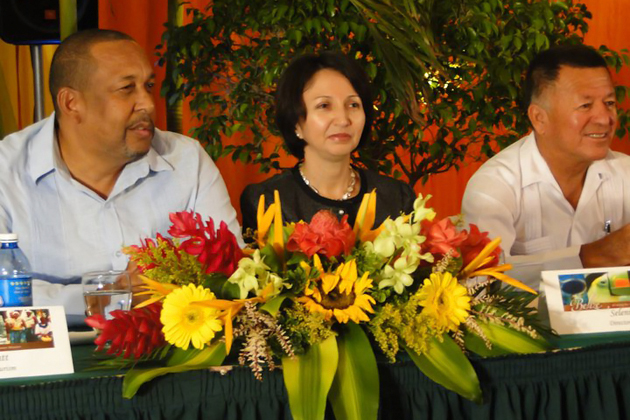 Mr. Lyndsay Garbut, Ms. Seleni Matus and Mr. Manuel Heredia Jr.