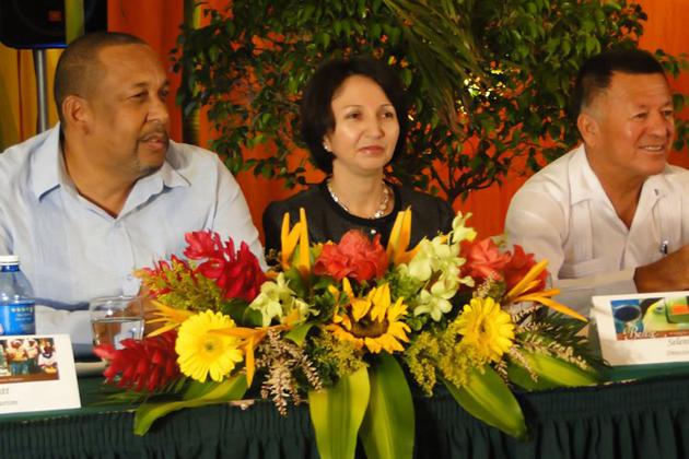 Mr. Lyndsay Garbut, Ms. Seleni Matus and Mr. Manuel Heredia Jr.