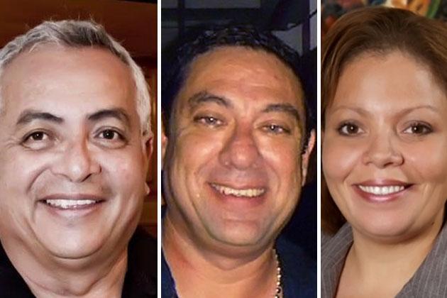 Gach Guerrero, Einer Gomez and Tracy Panton