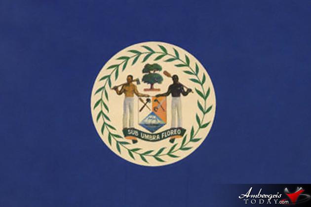 Belize Flag - Bandera de Belice