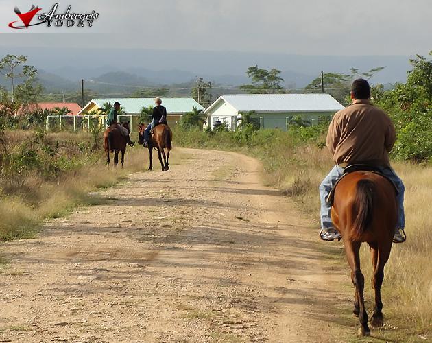 Horseback Riding through the Garden City