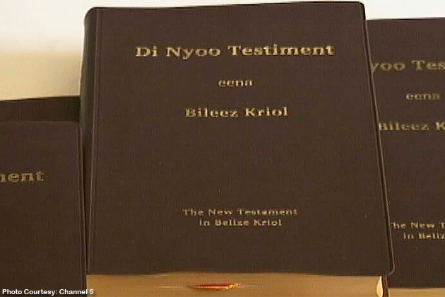 Holy Bible's New Testament Launched in Belize Kriol