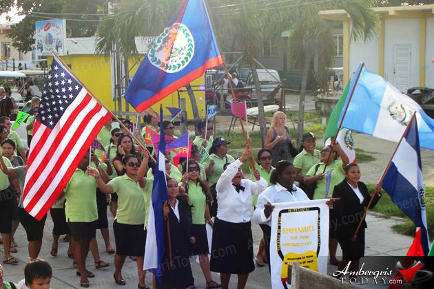 1st Ever Bible Parade a Huge Success