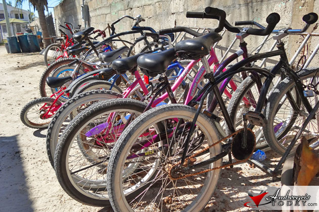 Bicycles without proper gear were confiscated by San Pedro Police