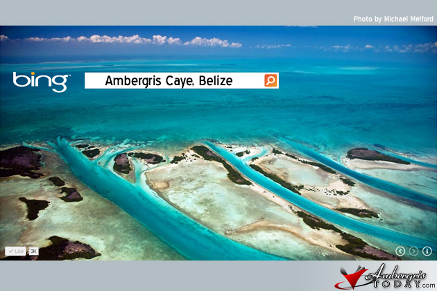 Bing search engine features Ambergris Caye, Belize