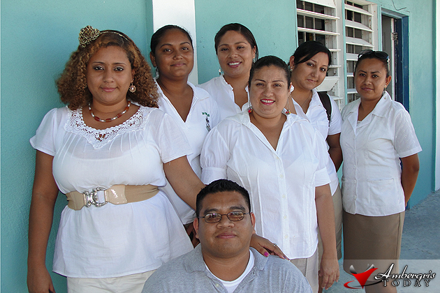 Ms. Michelle Turton and her teacher colleagues