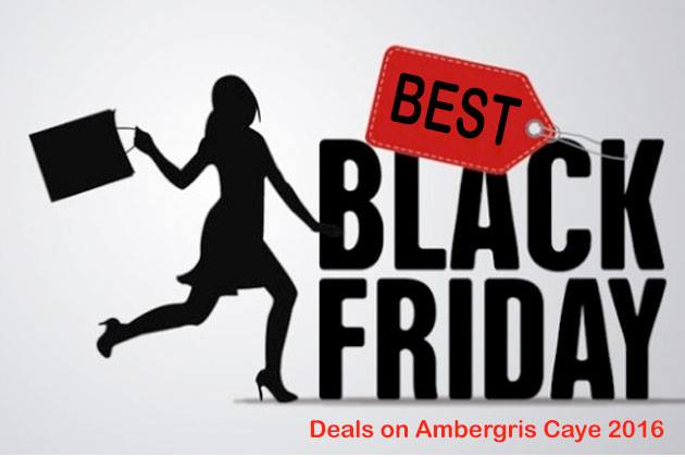 Five Amazing Black Friday Deals on Ambergris Caye