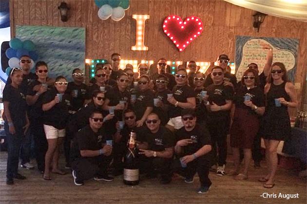 Blue Water Grill Celebrates 15 Anniversary (Quinceaños)