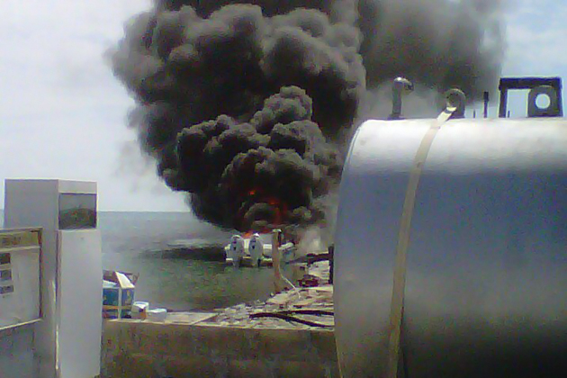 Boat Explodes in Caye Caulker – 2 Injured!