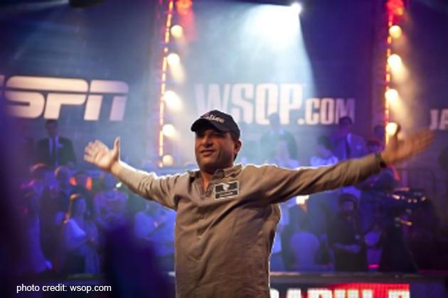 Badih Bob Bounahra at World Series of Poker in Vegas