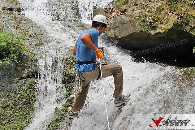 Waterfall Rappelling at Bocawina Falls
