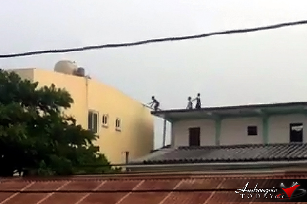 Daredevil Boys Captured on Video Jumping Across Rooftops