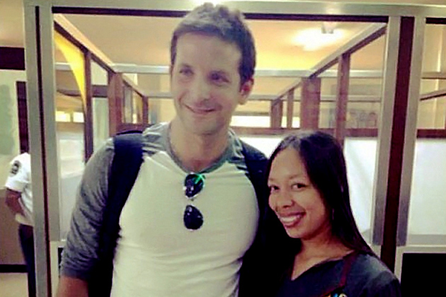 A-List Celebrity Bradley Cooper Vacationing In Belize