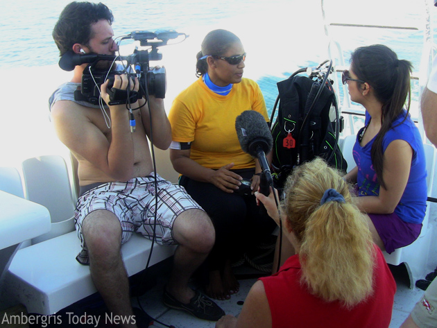 Belize to be featured on Dive Travel TV