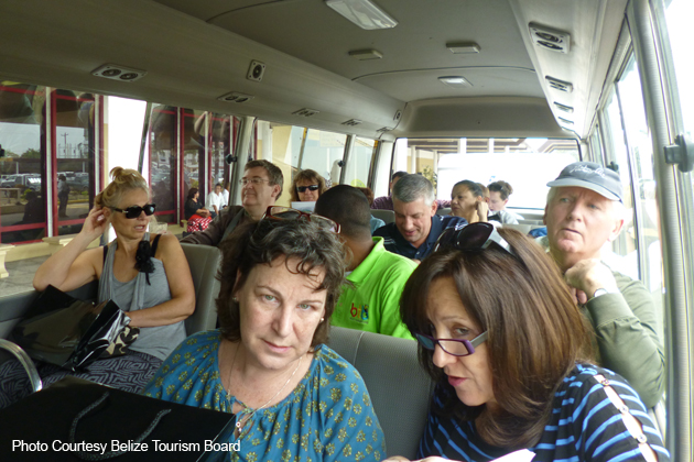 Canadian Travel Agents, Journalists & Wholesalers Visit Belize!