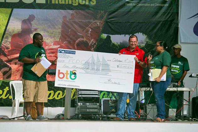 BTB Gives $10,000 to FCD Park Ranger Program - $320,00 Raised