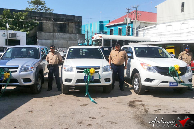 BTB Donates Vehiclesto Belize Tourism Police