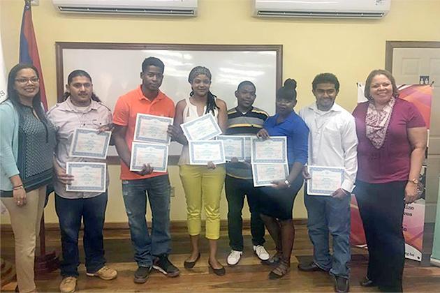 66 Receive Certificate in Tourism Based Job Preparedness Training