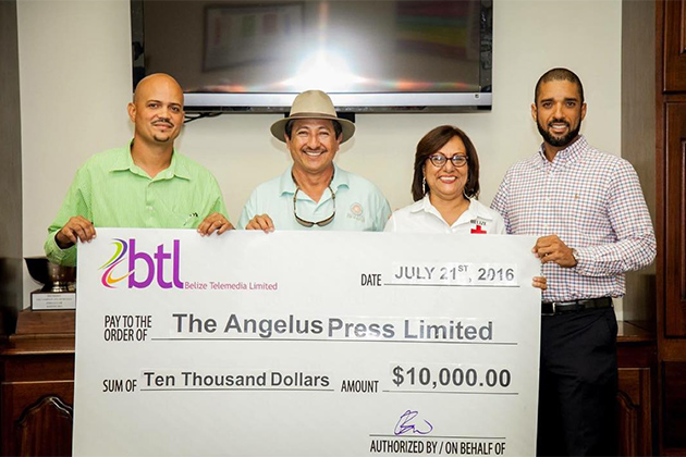 $10,000 Towards School Supplies for Fire Victims by BTL