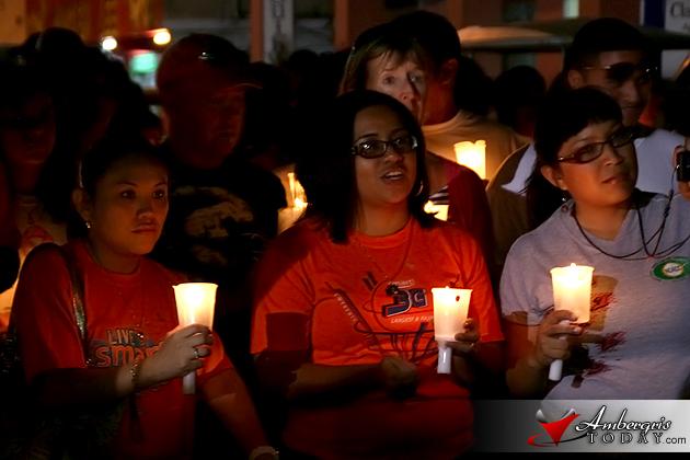 World Cancer Day Candle Lit Walk