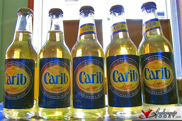Carib Lager Beer Arrives in Belize
