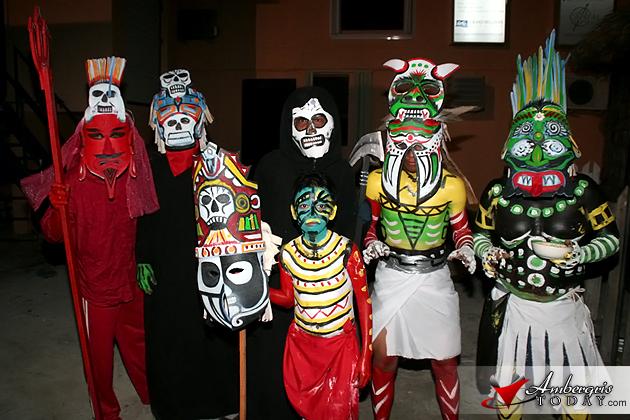 Los Enmascarados at Carnaval Celebrations, San Pedro, Belize