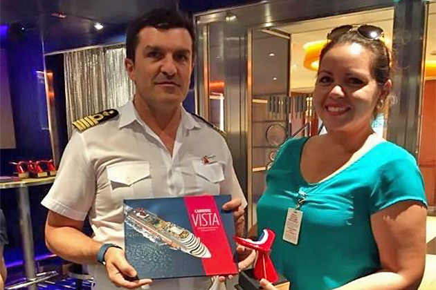 Carnival Vista's First Call to Belize