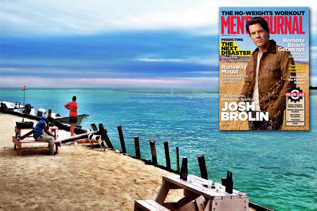 """Caye Caulker's """"Underwater Wilderness"""" Featured in Men's Journal Magazine"""