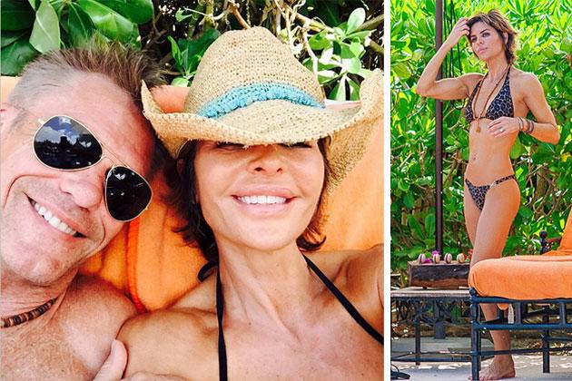 Celebrity Spotting – TV Couple Lisa Rinna & Harry Hamlin Vacation in San Pedro,