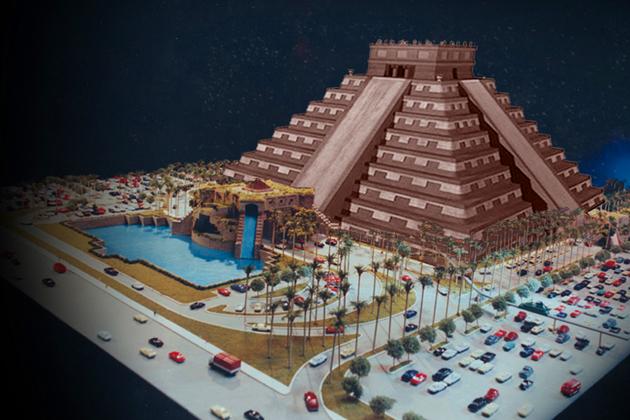 Concept of Cenote Falls Shopping Center