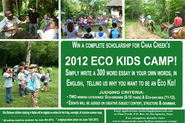 Eco Kids Summer Camp at Chaa Creek
