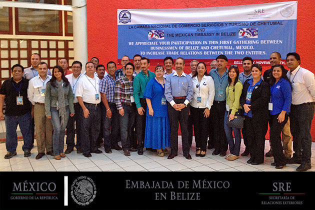 Belize Participates in Chetumal Chamber of Commerce Trade Mission 2014