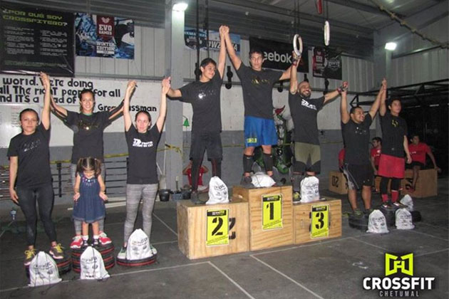 San Pedro CrossFit Athletes Shine in Chetumal Fitness Competition
