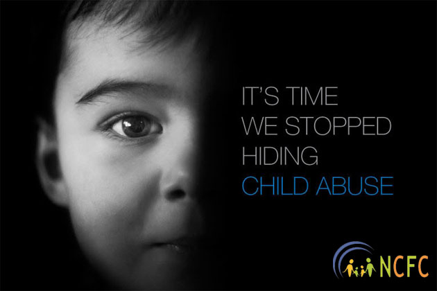 National Committee for Families & Children Speaks out against Child Abuse