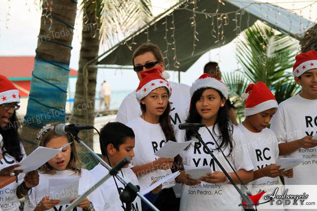 Christmas Carol Fundraiser Hector Duran, RC Choir