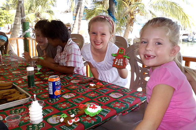 Gabriela Knox and friends Cookie Party