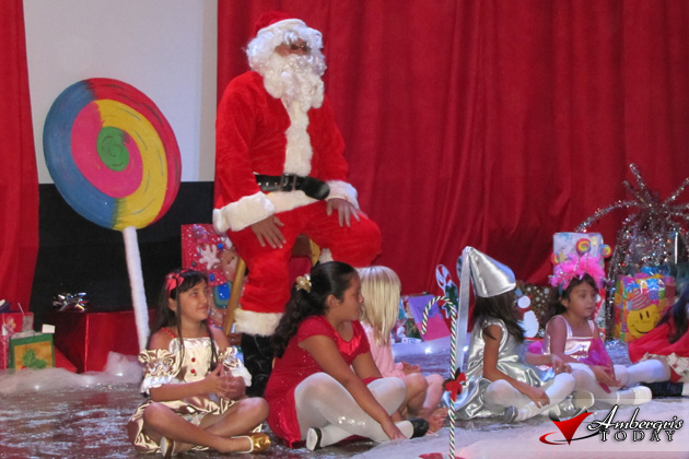 Christmas Showtime at Island Schools