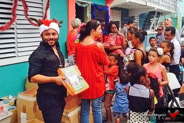 Findley Halliday (Fin K) organizes Christmas Soup Kitchen in San Pedro