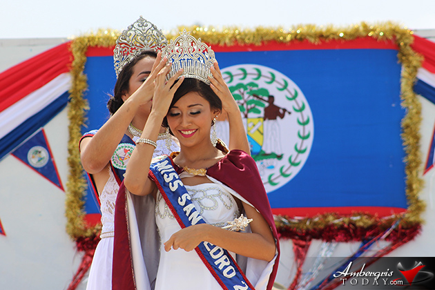 Miss San Pedro 2015 Iris Salguero Crowned, 10th September Uniform Parade