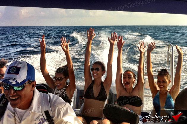 Costa Maya Delegates Go Full Throttle