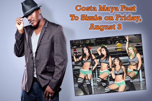 Soca Star Kevin Lyttle to perform for Costa Maya Festival on August 2, 2012