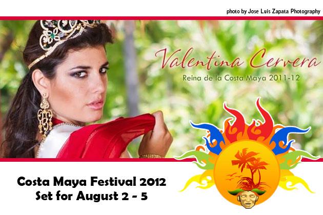 Miss Costa Maya 2011 Valentina Cervera, Miss Mexico