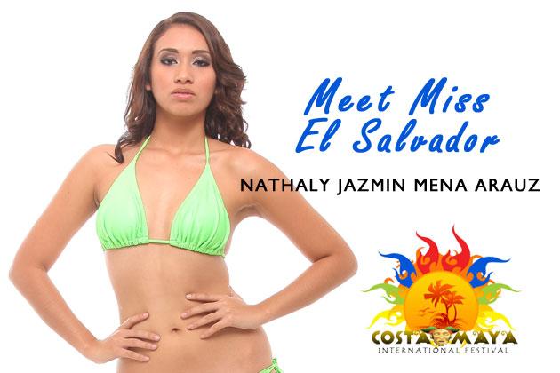 Nathaly Jazmin Mena Arauz, Costa Maya Fest 2012 Presents Miss El Salvador
