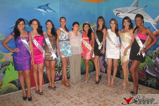 Mayor Paz Hosts Costa Maya Delegates