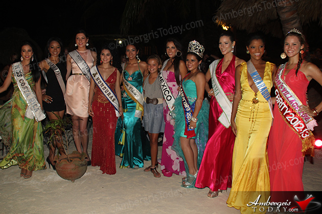 A Tropical Night for Costa Maya 2012 Pageant Delegates